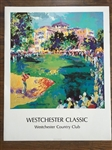 HAND SIGNED LEROY NEIMAN - WESTCHESTER GOLF CLASSIC