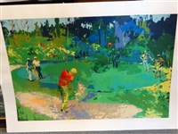 "LIMITED EDITION SERIGRAPH 1978 ""GOLFs THREESOME"" BY LEROY NEIMAN"