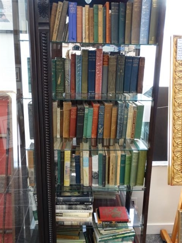OVER 100 RARE BOOKS IN ONE COLLECTION, PLEASE SEE PICTURES FOR THE LIST OF BOOKS - INCLUDED ARE SOME OF THE FINEST VOLUMES EVER OFFERED