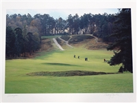 SUNNINGDALE GOLF CLUB LOCATED IN BERKSHIRE, ENGLAND- PHOTOGRAPH ON PAPER GECLEE, SIGNED BY ANTHONY EDGEWORTH