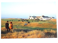 RYE GOLF CLUB LOCATED IN ENGLAND. PHOTOGRAPH ON GICLEE PAPER BY ANTHONY EDGEWORTH