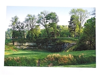 MERION GOLF CLUB, PHOTOGRAPH ON GICLEE PAPER BY PHOTOGRAPHER ANTHONY EDGEWORTH, SIGNED