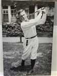 "LIFE SIZE YOUNG BOBBY JONES- VERY RARE IMAGE FROM ORIGINAL NEGATIVE, CANVAS GICLEE 67"" HIGH"