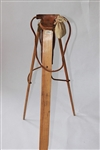 CIRCA LATE 1800S HOLBROOK GOLF CLUB TRIPOD CARRIER. IN REMARKABLE CONDITION