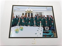 MASTERS 2013 CLUB DINNER FOR THE WINNERS OF THE GREEN JACKET IN AUGUSTA NATIONAL GOLF CLUB