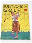 1931 BOBBY JONES ON GOLF COMPLETE MAGAZINE WITH INTRODUCTION BY GRANTLAND RICE