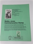 BOBBY JONES COMMEMORATIVE STAMP FIRST DAY OF ISSUE ON SEP. 22, 1981 IN PINEHURST, NC. MINT CONDITION