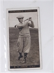 BOBBY JONES CHURCHMANS CIGARETTES CARD FROM FAMOUS GOLFERS SERIES OF 50