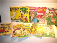 SIGNIFICANT COLLECTION OF GOLF COVER COMIC BOOKS- 100 COMIC BOOKS INCLUDING RARE EARLY ISSUES