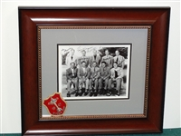 1947 RYDER CUP TEAM WITH SIGNATURES OF EACH MEMBER OF THE TEAM INCLUDING WALTER HAGEN. WITH THE BLAZER PATCH