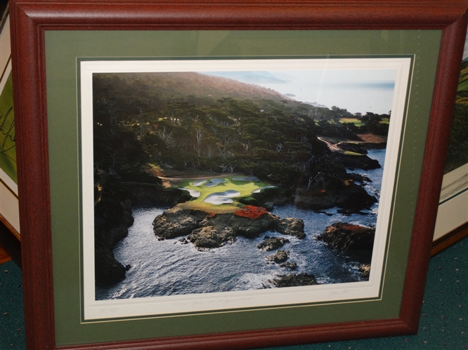 "CYPRESS POINT 15TH HOLE ""ETHEREAL SPACE"" JOANN DOST LIMITED EDITION PHOTOGRAPH OF 995,"
