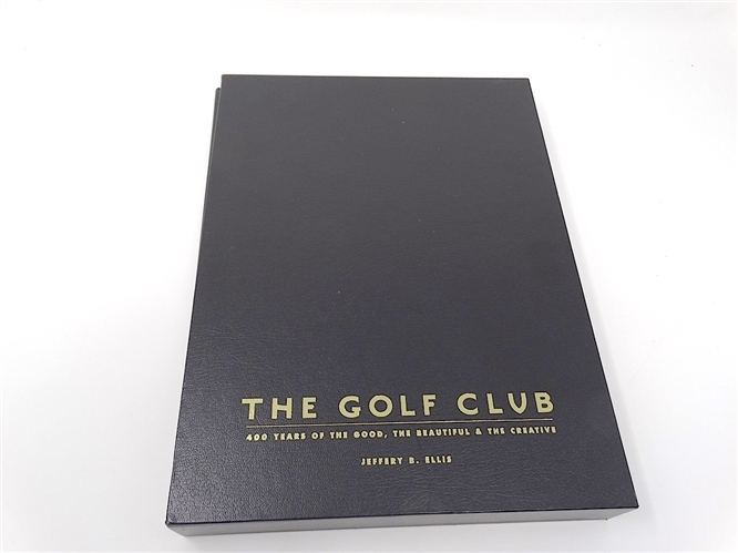 """THE GOLF CLUB"" SIGNED LIMITED EDITION BOOK No.31 out OF 400 COPIES"