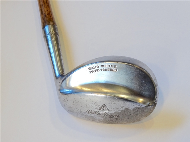 WALTER HAGEN HICKORY SHAFTED SAND WEDGE