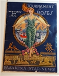 1932 TOURNAMENT OF ROSES-NEW YEARS DAY  PROGRAM