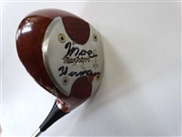 VERY RARE MOE NORMAN SIGNED PERSONAL DRIVER. IT WAS GIVEN TO DAVID WETLAUFER , A CANADIAN FRIEND AND FELLOW PROFESSIONAL COMPETITOR. INCLUDES PROVENANCE
