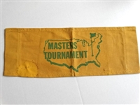 FROM THE MASTERS TOURNAMENT CANVAS SIGN FROM DIRECTORS CHAIR