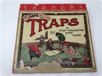 THE GAME OF TRAPS VINTAGE HOME GAME