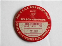 1960 U.S. OPEN CHAMPIONSHIP AT CHERRY HILLS COUNTRY CLUB, DENVER, COLORADO, SEASON GROUNDS