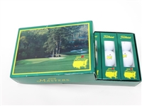 MASTERS 2004 BOX OF 12 GOLF BALLS WITH MASTERS LOGO