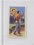 BEN HOGAN COLLECTIBLE CARD ISSUED BY TOP FLIGHT CIGARETTES #15