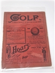 "1897 GOLF COMPLETE MAGAZINE ON A WEEKLY RECORD OF ""THE ROYAL AND ANCIENT"" GAME"