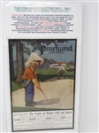 "AN ORIGINAL PAGE  ""THE PINEHURST PUTTER BOY"" DATED 1911 FROM ADVERTISEMENT FOR THE PINEHURST RESORT"