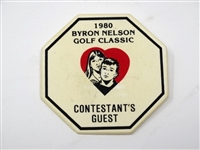 1980 BYRON NELSON GOLF CLASSIC - CONTESTANTS GUEST- TOM WATSON, WINNER