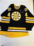 HAND SIGNED BOBBY ORR OFFICIAL BOSTON BRUINS HOCKEY JERSEY