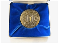 1980 OPENING DAY DEDICATION MEDAL AT TPC GIVEN TO PGA TOUR WINNERS