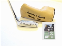 NEW GEORGE LOW ORIGINAL AMERICAS GUEST PUTTER, LTD. ED. #1 OF 100, WITH HIS BIOGRAPHY BOOK SIGNED BY AUTHOR AL BARKOW