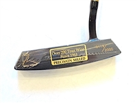 NEW WRAPED RAY COOK BLUE GOOSE PUTTER, LIMITED EDITION #0119 OF 2000 WITH A HEAD COVER