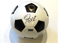 HAND SIGNED PELE OFFICIAL SOCCER BALL WITH CERTIFICATE OF AUTHENTICITY