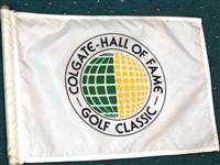 COURSE FLOWN FLAG FROM COLGATE - HALL OF FAME, GOLF CLASSIC IN PINEHURST N.C.