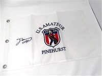 SIGNED FLAG BY DANNY LEE  WINNER OF U.S. AMATEUR IN PINEHURST, NC - THE YOUNGEST U.S. AMATEUR  WINNER, AGE 18
