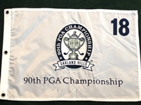FLAG FROM 90TH PGA CHAMPIONSHIP HELD IN OAKLAND HILLS, MICHIGAN