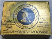 "COMMEMORATIVE ""MOONBALL"" - FULL BOX OF 12 - FIRST GOLF BALL ON THE MOON 1971"