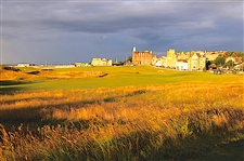 "STUNNING ST. ANDREWS LANDSCAPE ON METAL - 20""X 30"""