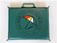 ARNOLD PALMER SIGNED CUSHION SEAT FROM ARNOLD PALMER COUSE DESIGN COMPANY