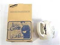 SIGNED MUG BY ARNOLD PALMER - LEGEND OF THE CENTURY
