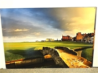 STUNNING IMAGE OF THE SWILCAN BRIDGE OF S. ANDREWS, PRINTED ON METAL