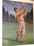 BOBBY JONES LIMITED EDITION LITHOGRAPH No. 112 / 250 SIGNED BY THE ARTIST, GONDA