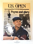 "PAYNE STEWART LIMITED EDITION LITHOGRAPH "" TRIBUTE TO A CHAMPION LIVING THE DREAM"" BY DOUGLAS LONDON"