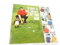 VINYL LP RECORD, 10 WAYS TO TAKE STROKES OFF YOUR GAME BY TOP 10 PROS
