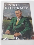 1959 SPORTS ILLUSTRATED COMPLETE MAGAZINE WITH BOBBY JONES. MR. JONES WRITES ABOUT THE MASTERS