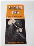 ADVERTISEMENT FOR SOUTHERN PINES, NORTH CAROLINA, WITH INFORMATION ON THE AREA NEXT TO PINEHURST