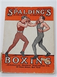 EARLY SPALDINGS ATHLETIC LIBRARY, BOXING EDITION BY AMERICAN SPORTS PUBLISHING CO.