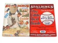 1931 SPALDINGS BASEBALLS BEST-ON-RECORD BROCHURES OF BASE BALL GUIDE BY AMERICAN SPORTS PUBLISHING CO.