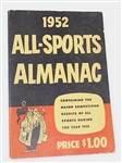 1952 ALL-SPORTS ALMANAC - GREAT HISTORICAL CONTENT ON BASEBALL
