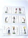 ORIGINAL SET OF 25 JOHN PLAYER CIGARETTE CARDS FROM 1939