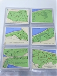 HISTORICAL COLLECTION OF 25 CARDS ON CHAMPIONSHIP GOLF COURSES BY JOHN PLAYER & SONS